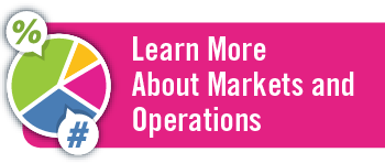 Learn More about Markets & Operations